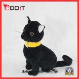Het zachte Gevulde Speelgoed van de Kat van de Pluche van de Kat Leuke Zwarte
