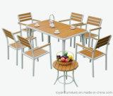 حديثة فناء خارجيّ حديقة أثاث لازم محدّد ألومنيوم [بولووود] [تبل شير] لأنّ فندق مطعم [بيسترو] فناء خلفيّ