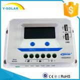 Epsolar 20A 12V/24V Solaraufladungs-/Ladung-Controller Doppel-USB Vs2024au