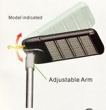 IP65 impermeabilizan el alumbrado público ajustable del brazo 100W LED de Bridgelux del CREE de RoHS del Ce