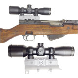 Óptica vectorial Tsyklon 4X32 W / Ak 47/74 Qd Side Rail Mount Riflescope militar compacto