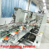 Máquina de dobramento e de colagem automática (velocidade máxima 450m/min de SQ-1100PC-R)