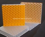 Feuille transparente 3.0-8.0 de nid d'abeilles de polycarbonate