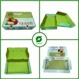 Maçãs da caixa da caixa da fruta de /Fresh da caixa de cartão