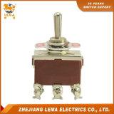 Interrupteur à bascule bipolaire de terminal de vis de Lema Lt221b mini