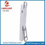 ah luz Emergency de la potencia de batería 6V 4 60 SMD LED con la maneta