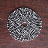 catena della sfera dei ciechi di rullo dell'acciaio inossidabile di 4.5mm
