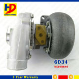 Diesel Engine Parts 6D34 Turbocompresor (ME088840)