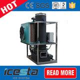 Plantas de gelo industriais da câmara de ar de Icesta 10t/24hrs com sistema da embalagem do gelo