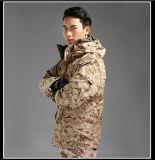 Ecwcsの柔らかいシェルの軍のジャケット、戦術的なジャケット、冬のジャケット