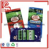 La bolsa de plástico modificada para requisitos particulares del escudete de la cara de la marca de fábrica para el empaquetado del fertilizante