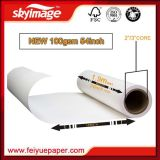 papier de transfert de la meilleure qualité de sublimation de 100GSM 54inch (1370mm) avec le prix usine