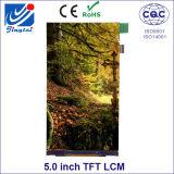 5.0inch 12 Tn TFT LCD Uur van de Vertoning