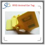 UHF RFIDの農場家畜管理のための動物の耳札
