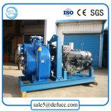 Bomba de água auto-estimulante horizontal com motor a diesel