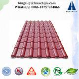 Telha ondulada da resina do ASA do telhado do material de construção plástico da qualidade superior