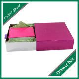 ピンクカラーボール紙の引出しボックス