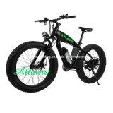 26*4.0 بوصة [500و] شاطئ ثلج جبل إطار العجلة سمينة درّاجة كهربائيّة