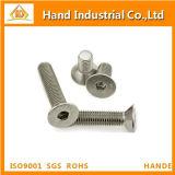 Vis de plot Hex principales modifiées froides de l'acier inoxydable DIN7991 Csk