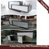 (HX-5N378) Forniture di ufficio di legno di MFC dell'ufficio di ricezione della Tabella nera del contatore