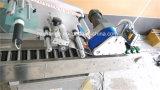 Première petite machine à étiquettes horizontale automatique de bouteille ronde de banc