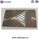 Het Decoratieve Blad van uitstekende kwaliteit van het Roestvrij staal van de Ets van de Laser