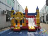 スライド、販売のための膨脹可能なコンボが付いている商業膨脹可能な跳躍の城