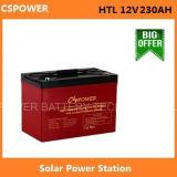 12V230ah Navulbare Batterij van de zonneMacht, 50% Dod 1500cycles