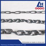 DIN766 de standaardKeten van de Link van het Roestvrij staal