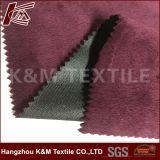 Tela aplicada con brocha de custodia caliente de la chaqueta de la tela del paño grueso y suave del enlace del poliester de Softshell