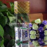 Bolso transparente del cuadrado de la parte inferior plana de BOPP para el caramelo, regalo, alimento, bolso del pan con la impresión