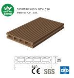Anti-Brechender tragbarer WPC Bodenbelag des grünen Material-