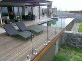 Australischer StandardFrameless SS Zapfen-Glasgeländer für Balkon