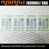 Etiqueta impermeable del rango largo RFID de la frecuencia ultraelevada para la gerencia del paño