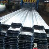 Il calibro del lamiera galvanizzato 26 ha galvanizzato lo strato galvanizzato di Decking del pavimento d'acciaio della lamiera di acciaio