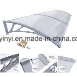 De openlucht Duidelijke Plastic Luifels van het Polycarbonaat DIY (yy800-c)