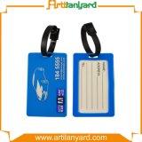 Concevoir l'étiquette de bagages molle de PVC d'impression