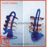 Coffret d'étalage acrylique de lunetterie de présentoir de lunetterie