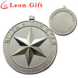 Metall herausgeschnittener Form-Decklack Sports Medaille für Meisterschaften