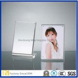 1.8m m, vidrio de hoja grueso del claro del marco de 2.0mm-6m m