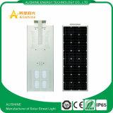 Haute performance de lumens élevés 60W tout dans un réverbère solaire de constructeur direct