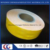 Cinta reflexiva de la seguridad adhesiva amarilla al por mayor de los fabricantes para el vehículo