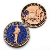 Moneda doble de encargo del recuerdo del laminado de Interpol