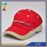 Gorra de béisbol promocional de la insignia al por mayor del bordado