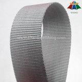 Webbing de nylon liso cinzento de 1.25 polegadas