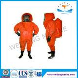 Type léger tenues de protection chimiques pour la lutte contre l'incendie de pompier