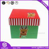 Kundenspezifische quadratische Papverpackenkasten für Weihnachten