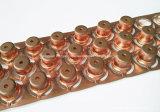 Ferro de cobre de alumínio personalizado do aço inoxidável de metal de folha que carimba as peças