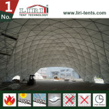 Gigante estructura de la tienda de la bóveda de la media esfera de 30 contadores