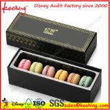 Caja de embalaje plegable colorida atractiva de la categoría alimenticia para Macarons